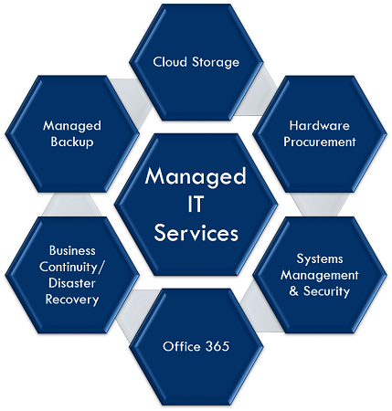 Scenic Solutions Group | Managed IT Service Areas